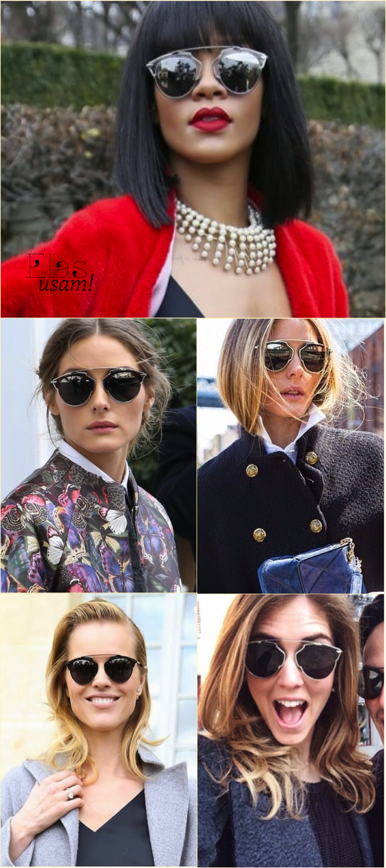 Dior So Real, os óculos da vez!