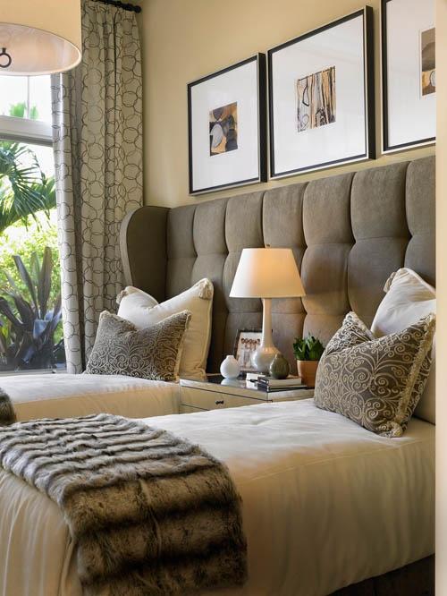 10 ideias de quartos com camas de solteiro fashionismo. Black Bedroom Furniture Sets. Home Design Ideas