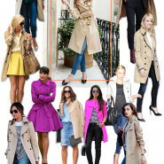 25 maneiras de usar Trench Coat!
