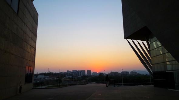 cidade-das-artes-por-do-sol