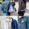 Transformando a jaqueta jeans!