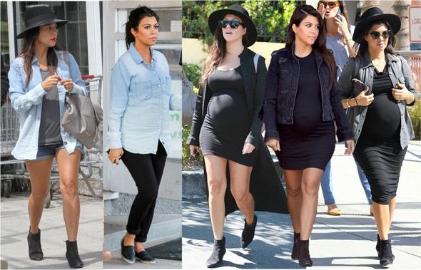 26 vezes onde kourtney kardashian foi a mais estilosa das