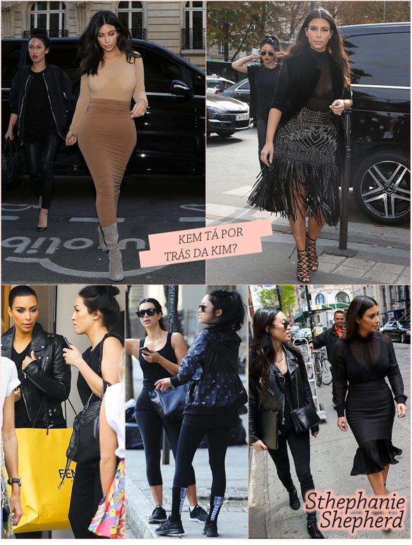 A assistente da Kim Kardashian