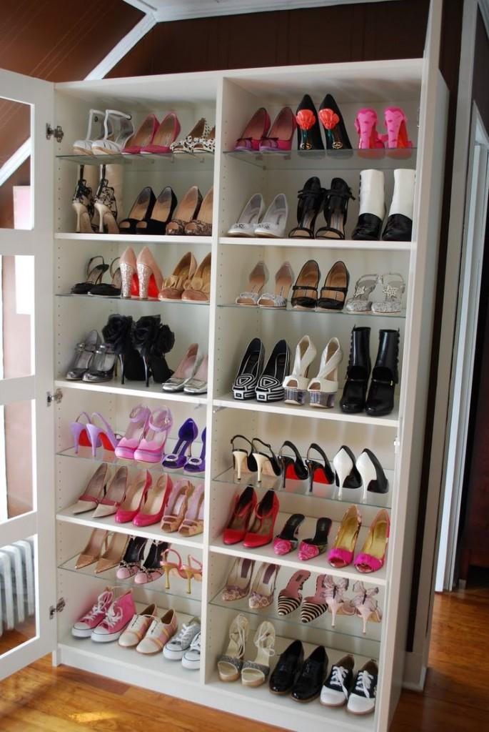 20 ideias pra organizar seus sapatos fashionismo for Mueble guarda juguetes