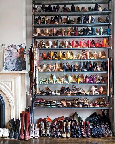 94910e3d4 20 ideias pra organizar seus sapatos! - Fashionismo