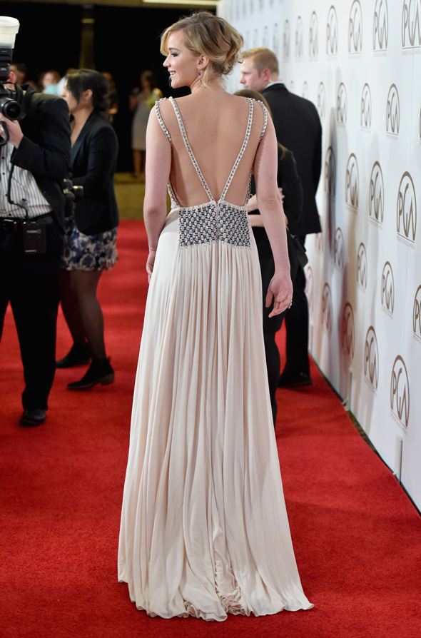 Jennifer Lawrence Red Carpet Prada | Fashionismo
