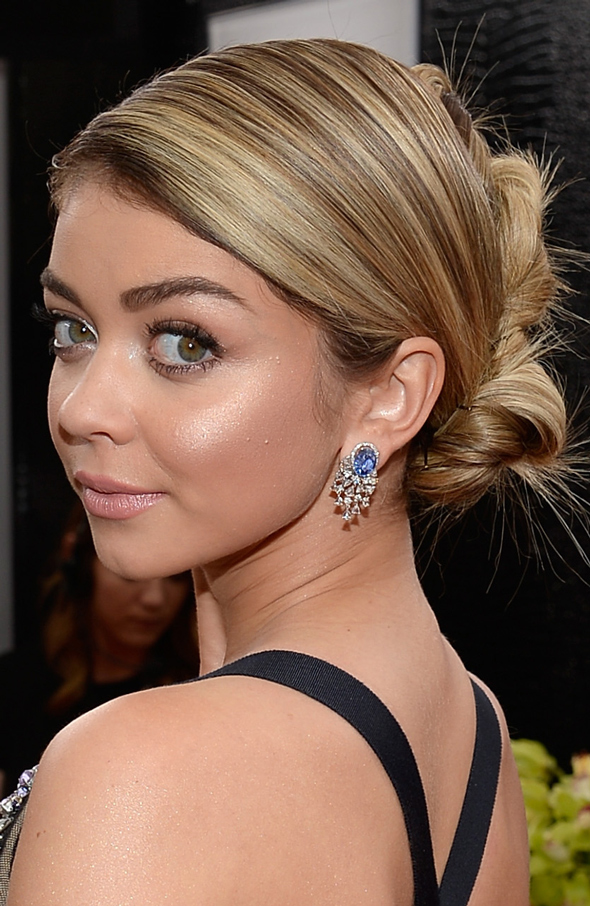 SAG AWARDS 2015 BEAUTY Sarah Hyland