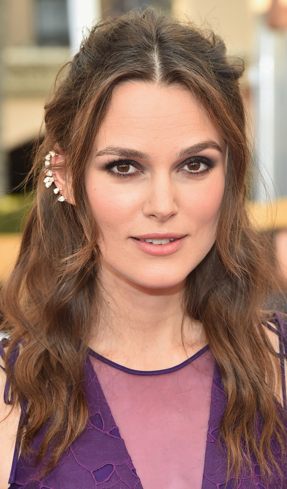 SAG AWARDS 2015 BEAUTY keira knightley