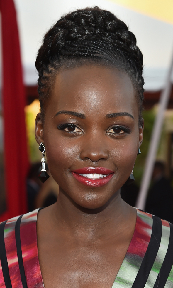 SAG AWARDS 2015 BEAUTY lupita nyong