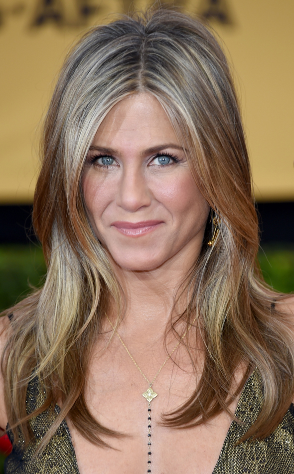 SAG AWARDS 2015 BEAUTY jennifer aniston