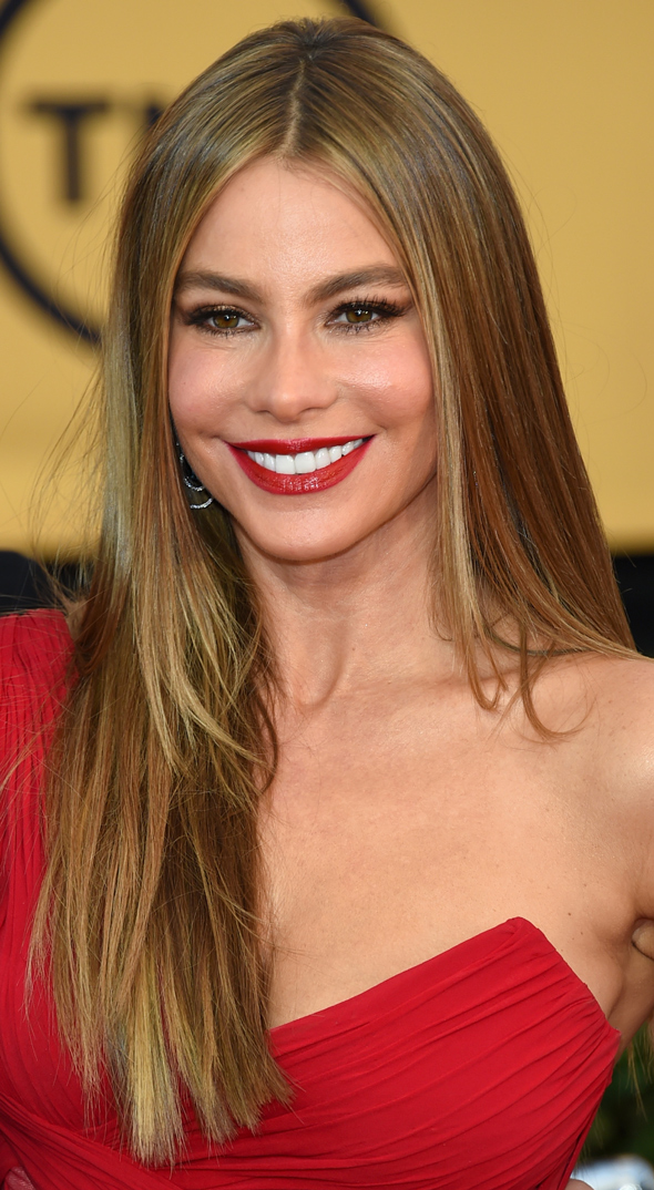 SAG AWARDS 2015 BEAUTY sofia vergara