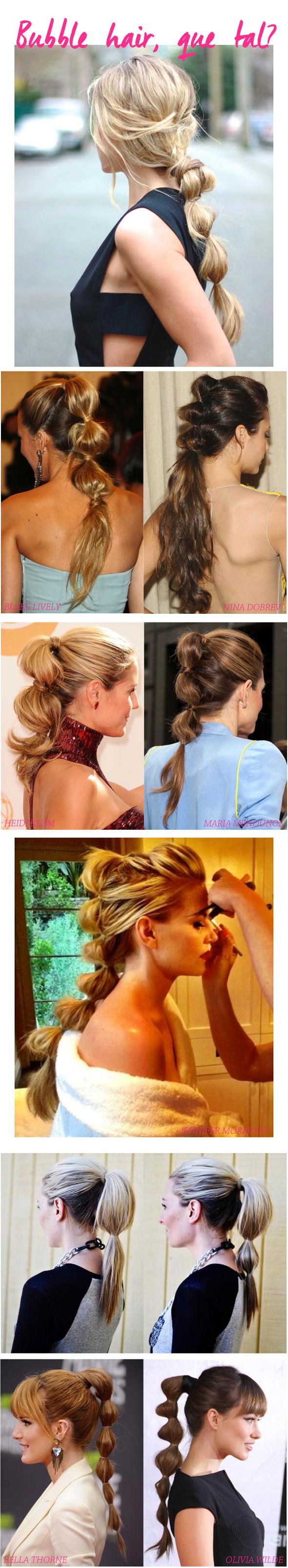 Beleza de Carnaval: Ideia de penteado super fácil e muito charmoso!