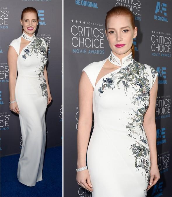 Critics Choice 2015: Jessica Chastain