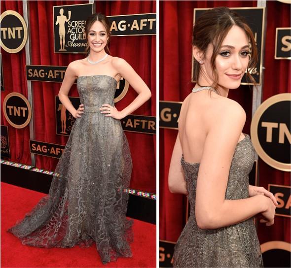 SAG Awards 2015: Emmy Rossum