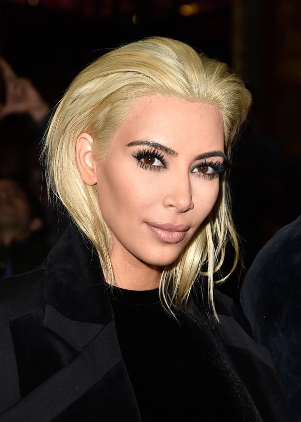 kim kardashian blonde ice blonde