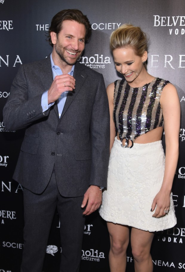 "Magnolia Pictures And The Cinema Society With Dior Beauty Host A Screening Of ""Serena"" - Arrivals"