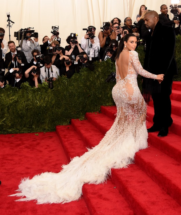 Kim Kardashian Met Galla Cavalli