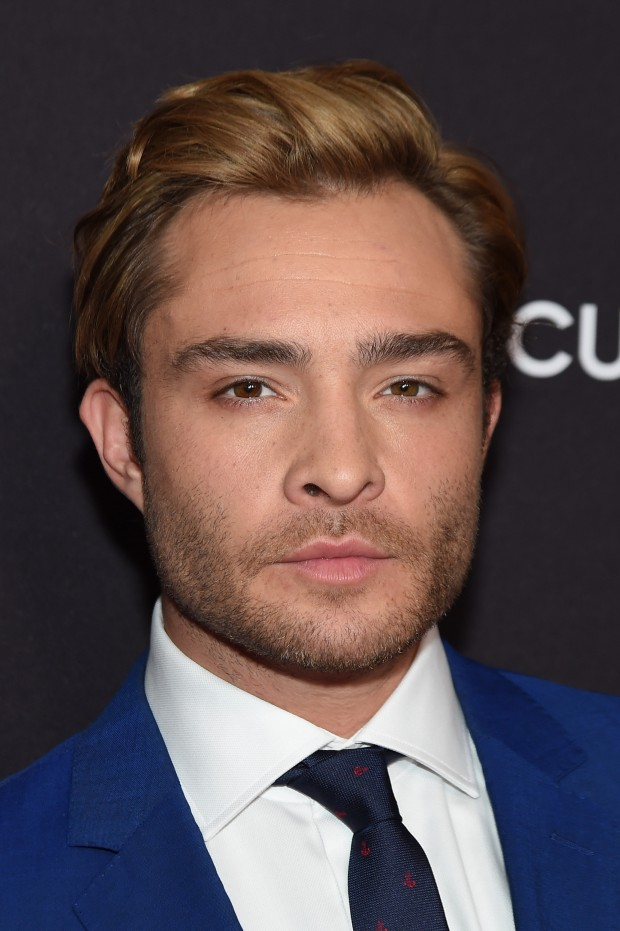 NEW YORK, NY - MAY 12:  Actor Ed Westwick attends the 2015 ABC Upfront at Avery Fisher Hall, Lincoln Center on May 12, 2015 in New York City.  (Photo by Jamie McCarthy/Getty Images)