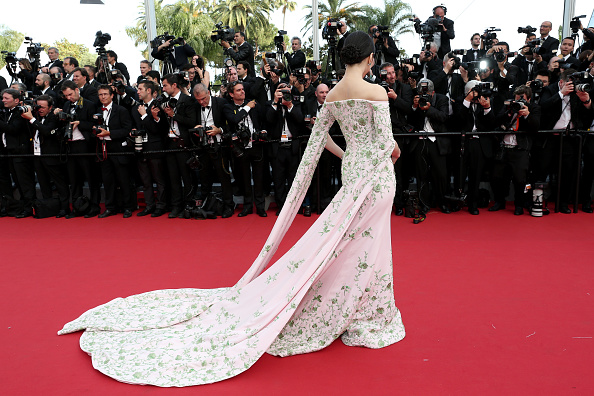 """CANNES, FRANCE – MAY 13:  Fan Bingbing attends the opening ceremony and premiere of """"La Tete Haute"""" (""""Standing Tall"""") during the 68th annual Cannes Film Festival on May 13, 2015 in Cannes, France.  (Photo by Gisela Schober/Getty Images)"""