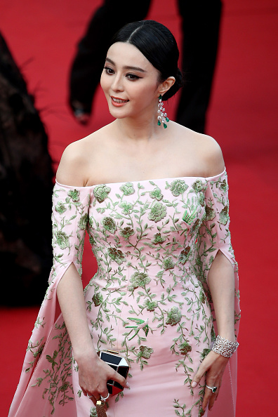 """CANNES, FRANCE – MAY 13:  Fan Bingbing attends the opening ceremony and premiere of """"La Tete Haute"""" (""""Standing Tall"""") during the 68th annual Cannes Film Festival on May 13, 2015 in Cannes, France.  (Photo by Andreas Rentz/Getty Images)"""