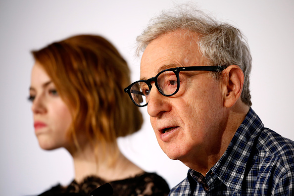 "attends the ""Irrational Man"" press Conference during the 68th annual Cannes Film Festival on May 15, 2015 in Cannes, France."