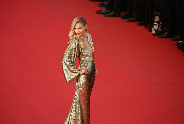"CANNES, FRANCE – MAY 16:  Natasha Poly attends the Premiere of ""The Sea Of Trees"" during the 68th annual Cannes Film Festival on May 16, 2015 in Cannes, France.  (Photo by Neilson Barnard/Getty Images)"