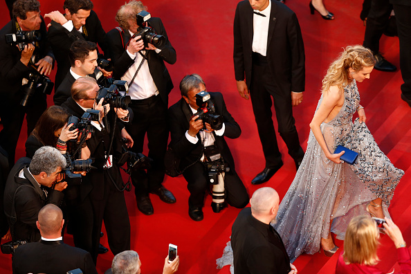 """CANNES, FRANCE – MAY 16: Diane Kruger attends the Premiere of """"The Sea Of Trees"""" during the 68th annual Cannes Film Festival on May 16, 2015 in Cannes, France.  (Photo by Pool/Getty Images)"""