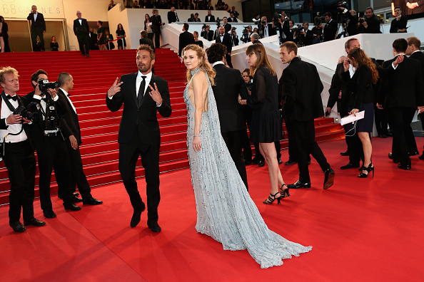"""CANNES, FRANCE – MAY 16:  Diane Kruger attends the Premiere of """"The Sea Of Trees"""" during the 68th annual Cannes Film Festival on May 16, 2015 in Cannes, France.  (Photo by Gisela Schober/Getty Images)"""