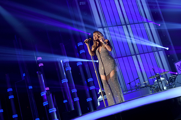 LAS VEGAS, NV – MAY 17:  Singer Mariah Carey performs onstage during the 2015 Billboard Music Awards at MGM Grand Garden Arena on May 17, 2015 in Las Vegas, Nevada.  (Photo by Larry Busacca/BMA2015/Getty Images for dcp)