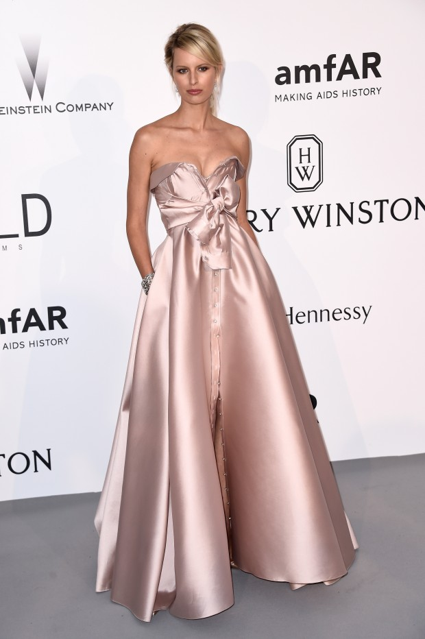 Look do dia Cannes Amfar: