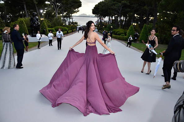 CAP D'ANTIBES, FRANCE – MAY 21:  Model Kendall Jenner attends amfAR's 22nd Cinema Against AIDS Gala, Presented By Bold Films And Harry Winston at Hotel du Cap-Eden-Roc on May 21,  (Photo by George Pimentel/amfAR15/WireImage)