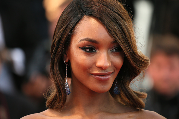 "CANNES, FRANCE – MAY 22:  Model Jourdan Dunn attends the ""Little Prince"" (""Le Petit Prince"") Premiere  during the 68th annual Cannes Film Festival on May 22, 2015 in Cannes, France.  (Photo by Neilson Barnard/Getty Images)"