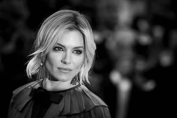 "CANNES, FRANCE – MAY 23:  An alternative view of Actress Sienna Miller attending the Premiere of ""Macbeth"" during the 68th annual Cannes Film Festival on May 23, 2015 in Cannes, France.  (Photo by Tristan Fewings/French Select)"