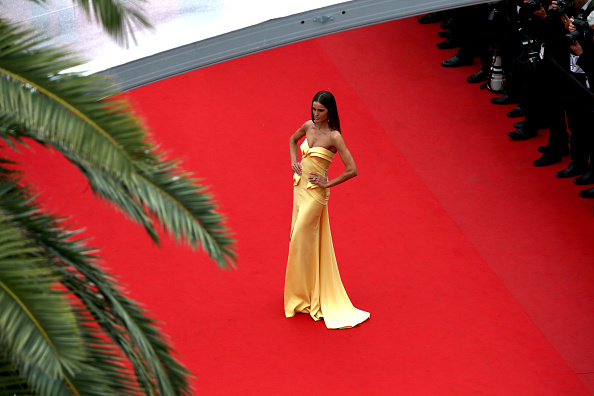 "CANNES, FRANCE – MAY 24:  Model Izabel Goulart attends the closing ceremony and ""Le Glace Et Le Ciel"" (""Ice And The Sky"") Premiere during the 68th annual Cannes Film Festival on May 24, 2015 in Cannes, France.  (Photo by Andreas Rentz/Getty Images)"