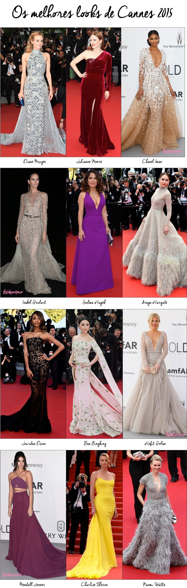 AS MAIS BEM VESTIDAS DE CANNES 2015 | FASHIONISMO