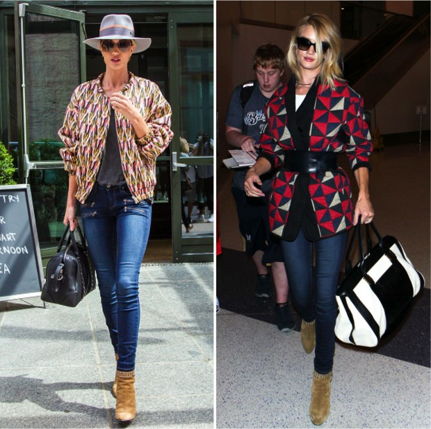 estilo Rosie Huntington Whiteley
