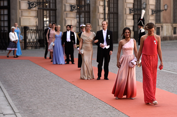 STOCKHOLM, SWEDEN – JUNE 13:  Guests attend the royal wedding of Prince Carl Philip of Sweden and Sofia Hellqvist at The Royal Palace on June 13, 2015 in Stockholm, Sweden.  (Photo by Ian Gavan/Getty Images)