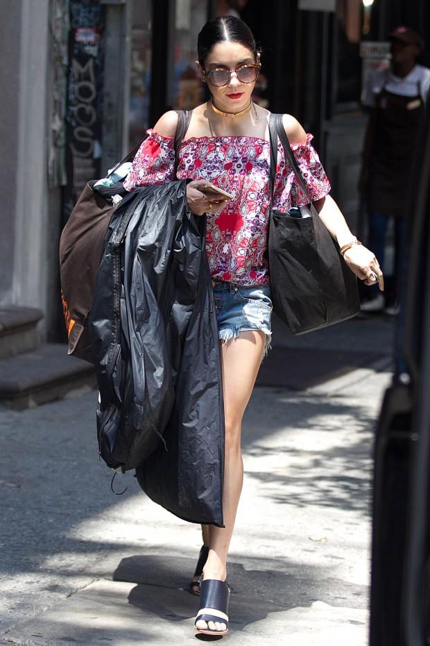 10 Looks Da Vanessa Hudgens De Novo Fashionismo