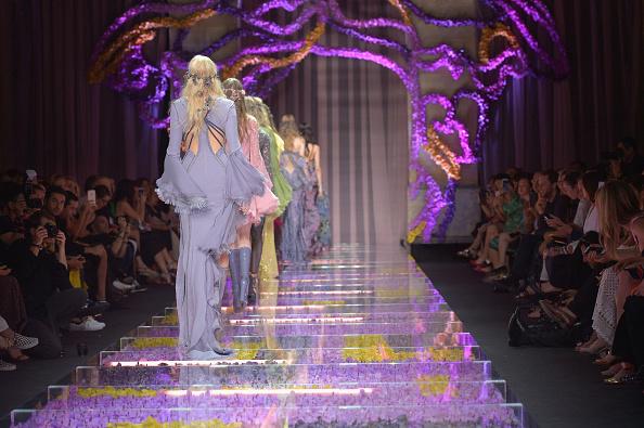 Versace : Runway - Paris Fashion Week - Haute Couture Fall/Winter 2015/2016