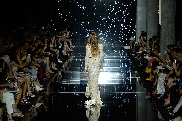 PARIS, FRANCE – JULY 09:  Izabel Goulart walks the runway during the Zuhair Murad show as part of Paris Fashion Week Haute Couture Fall/Winter 2015/2016 on July 9, 2015 in Paris, France.  (Photo by Kristy Sparow/Getty Images)