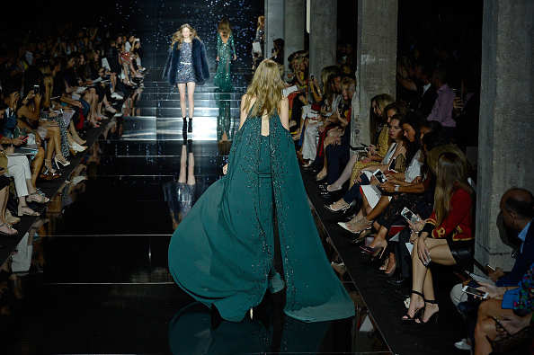 PARIS, FRANCE – JULY 09:  Models walk the runway during the Zuhair Murad show as part of Paris Fashion Week Haute Couture Fall/Winter 2015/2016 on July 9, 2015 in Paris, France.  (Photo by Kristy Sparow/Getty Images)