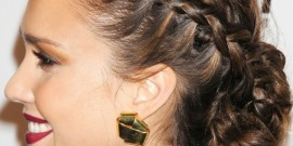 10 Ideias de penteados: Jessica Alba