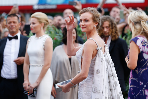 VENICE, ITALY – SEPTEMBER 02:  Diane Kruger attends the opening ceremony and premiere of 'Everest' during the 72nd Venice Film Festival on September 2, 2015 in Venice, Italy.  (Photo by Tristan Fewings/Getty Images)