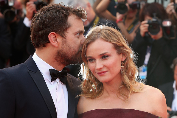 VENICE, ITALY – SEPTEMBER 04:  Joshua Jackson and Diane Kruger attend a premiere for 'Black Mass' during the 72nd Venice Film Festival on September 4, 2015 in Venice, Italy.  (Photo by Franco Origlia/Getty Images)