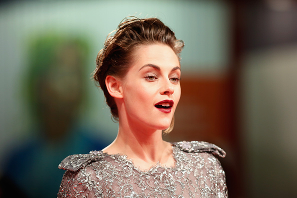 VENICE, ITALY – SEPTEMBER 05:  Kristen Stewart attends the premiere of 'Equals' during the 72nd Venice Film Festival at Sala Grande on September 5, 2015 in Venice, Italy.  (Photo by Tristan Fewings/Getty Images)