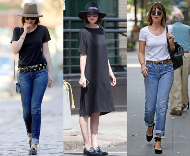 11 LOOKS DA DAKOTA JOHNSON POR AÍ