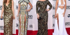 OS LOOKS DO AMERICAN MUSIC AWARDS 2015