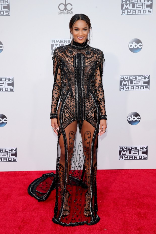 LOS ANGELES, CA - NOVEMBER 22:  Singer Ciara attends the 2015 American Music Awards at Microsoft Theater on November 22, 2015 in Los Angeles, California.  (Photo by Mark Davis/Getty Images)