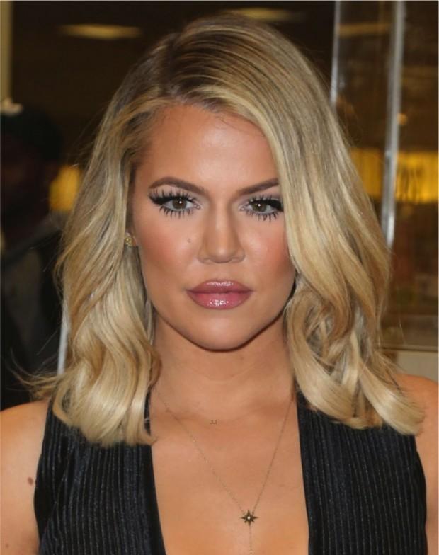 khloe kardashian corte de cabelo
