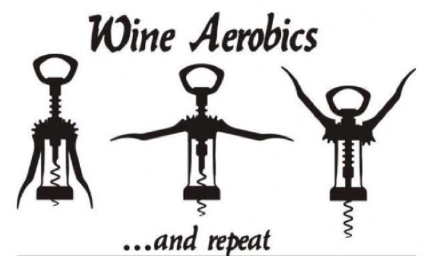 wine-aerobics